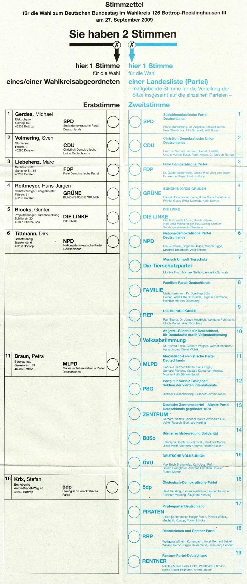 Cédula Eleitoral Wikipédia A Enciclopédia Livre