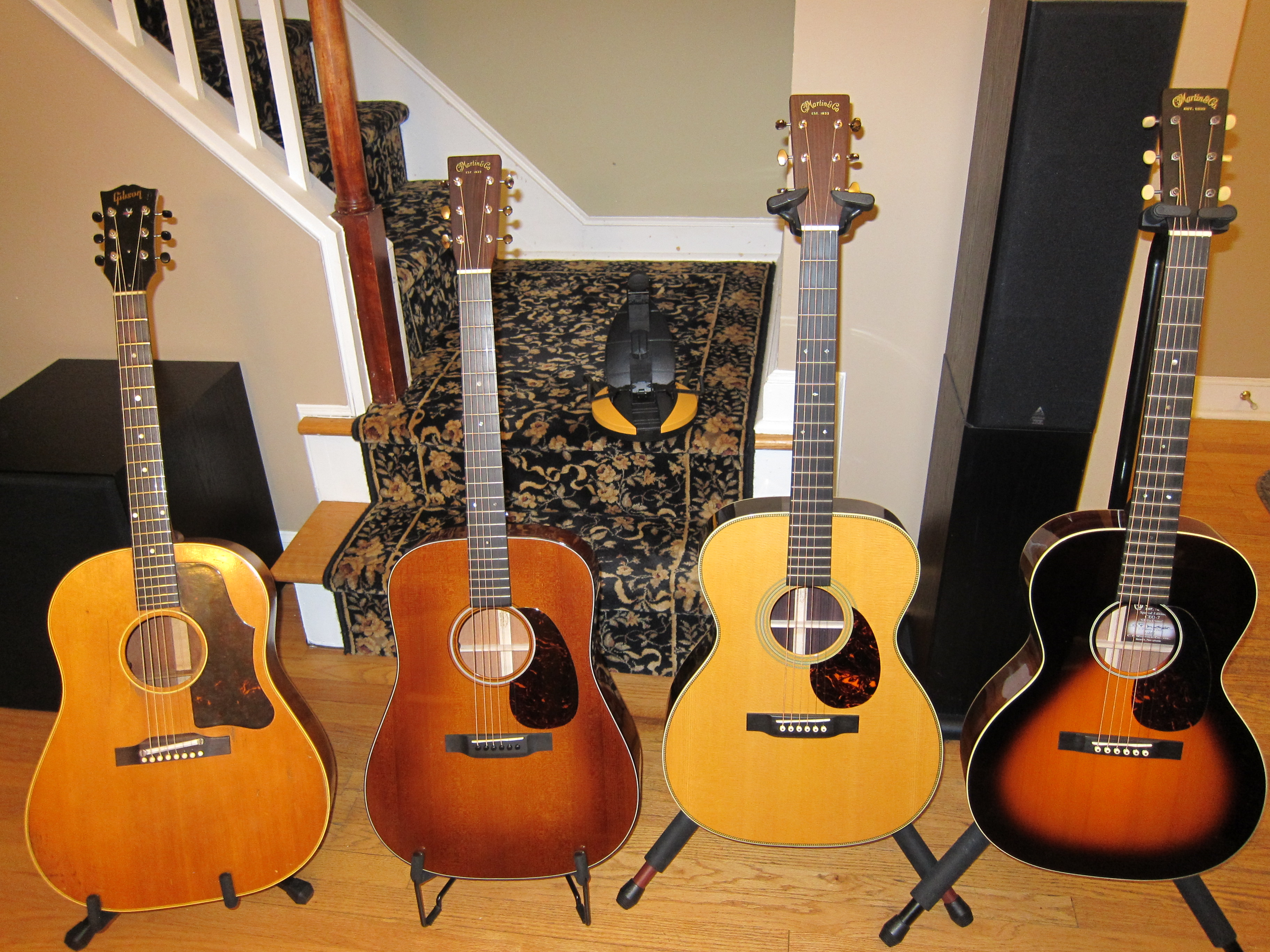 file c f martin x3 with gibson j 50 left one missing 2015