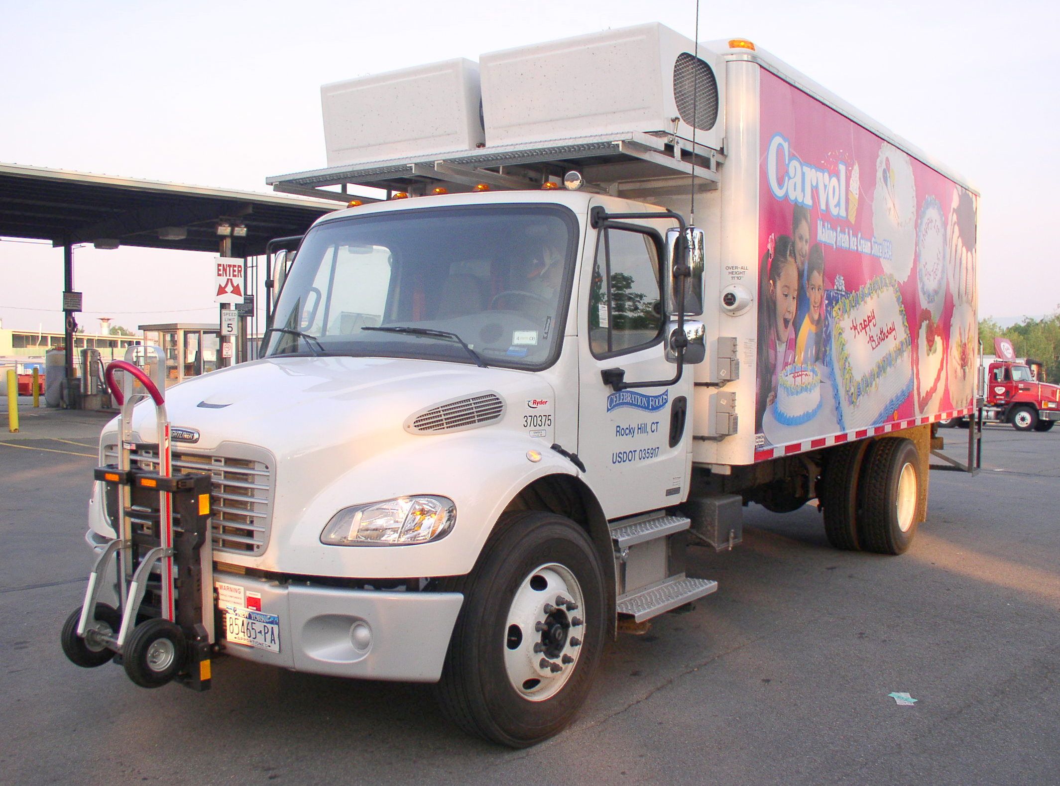 Refrigerated Truck Rental Oklahoma City
