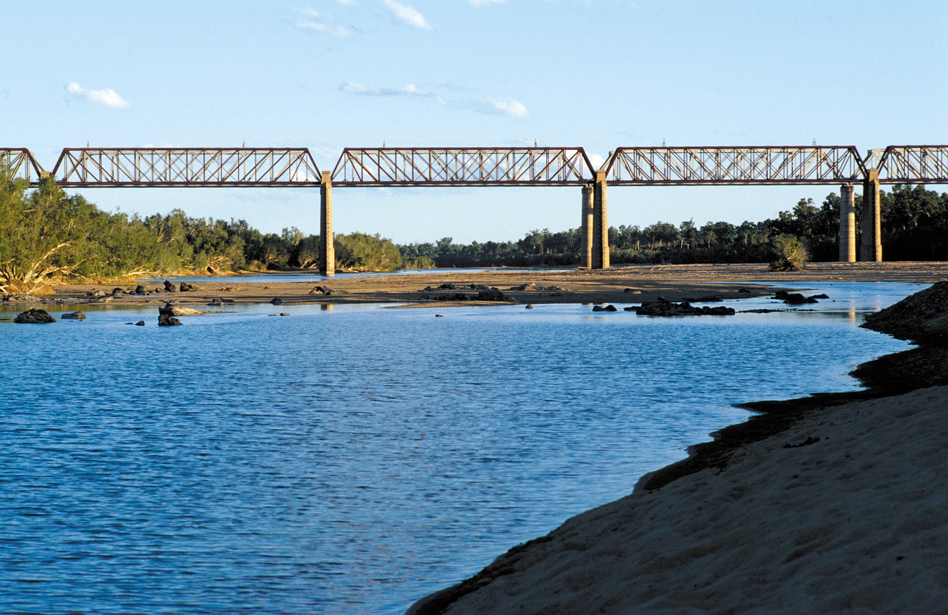 Burdekin Bridge Queensland Bridge Across The Burdekin