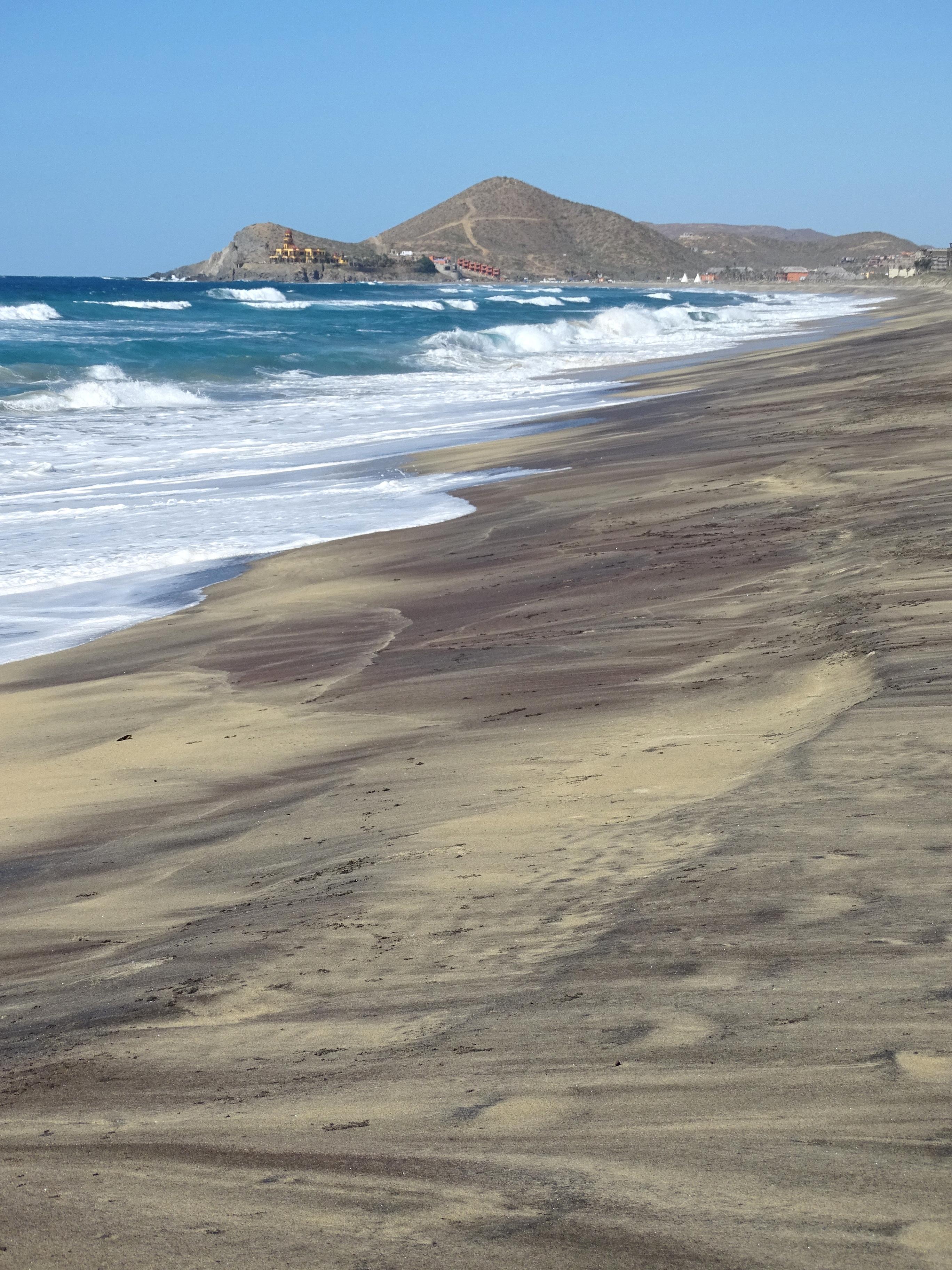 File Cerritos Beach Near Todos Santos Baja California Sur Mexico 06