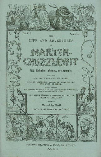 Martin Chuzzlewit Serial Cover