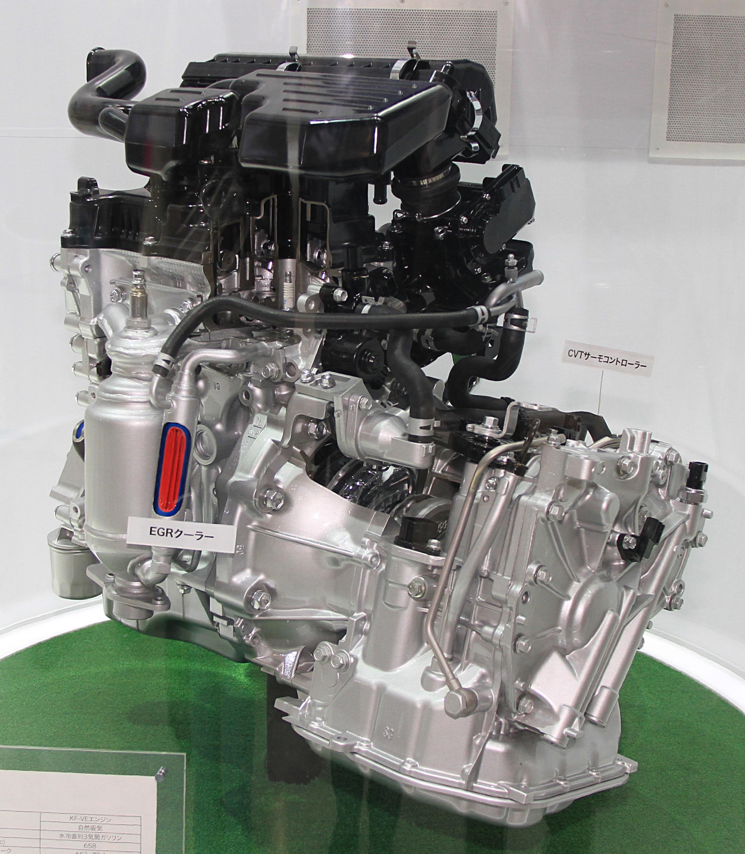 Daihatsu Engine: File:Daihatsu KF-VE Engine.jpg