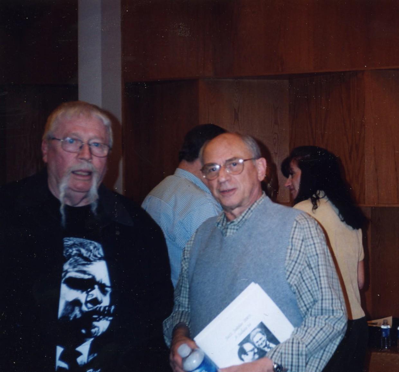 Frishberg (right) in 2005