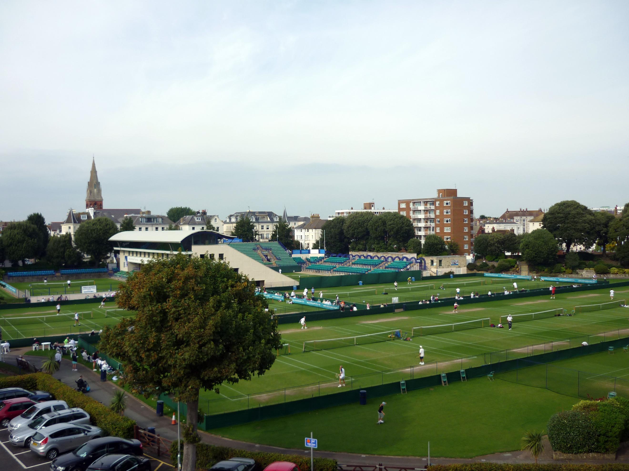 File Devonshire Park Tennis Courts Eastbourne Geograph