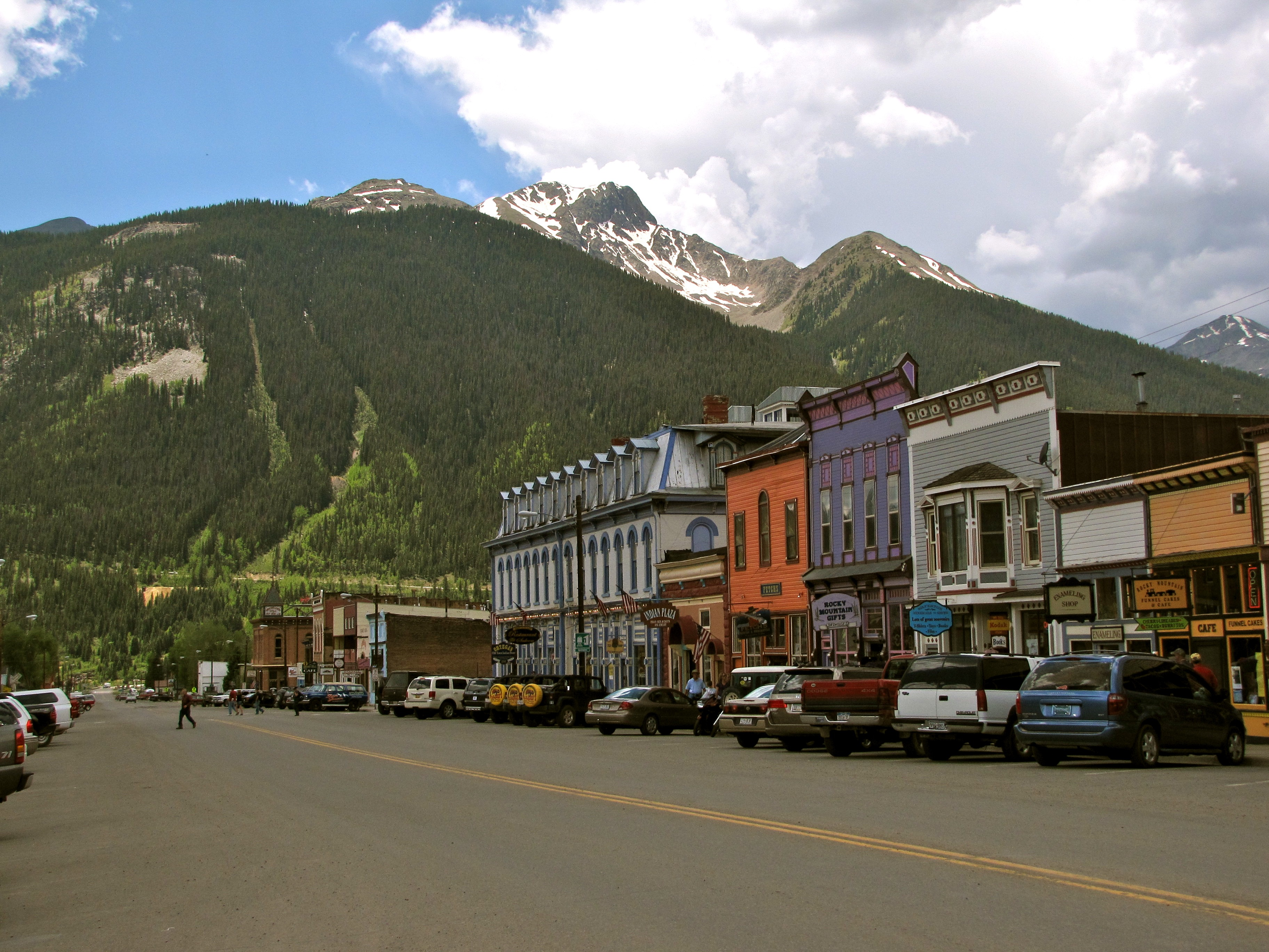 Downtown Silverton, von Alex Reinhart / cc by-saHTTPS 65306;/// creativecommons.org//licenses//by-sa//3.0Seite: 1