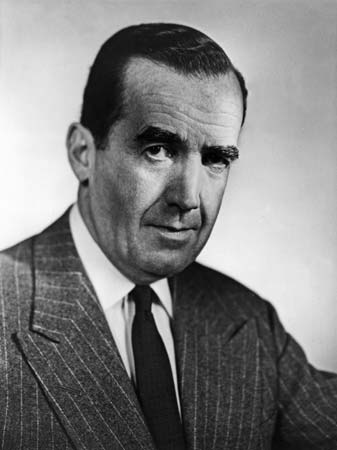 Edward R. Murrow, CBS News journalist and IIE trustee Edward R. Murrow.jpg