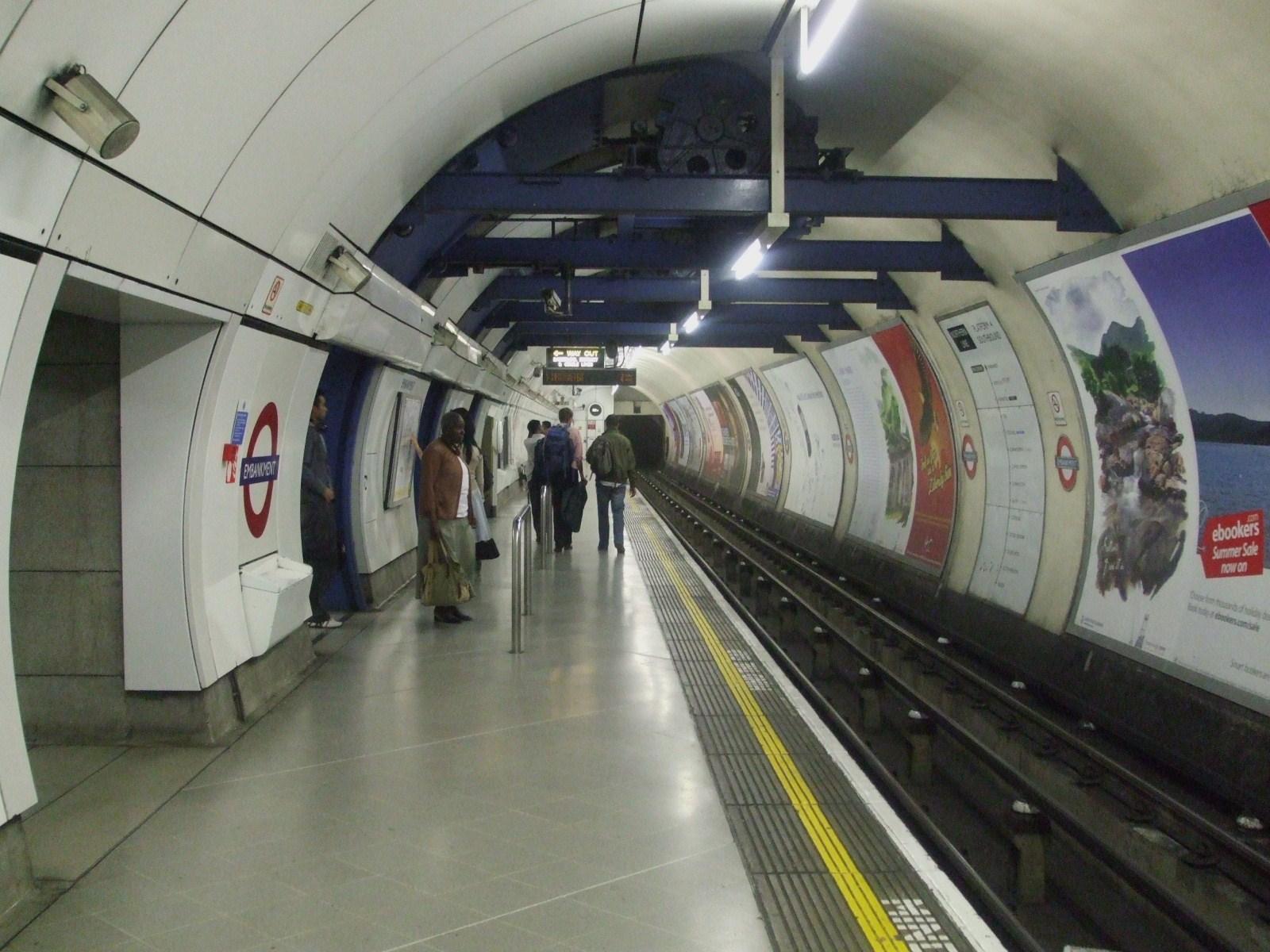 Embankment Tube Station To London School Of Economics New Building