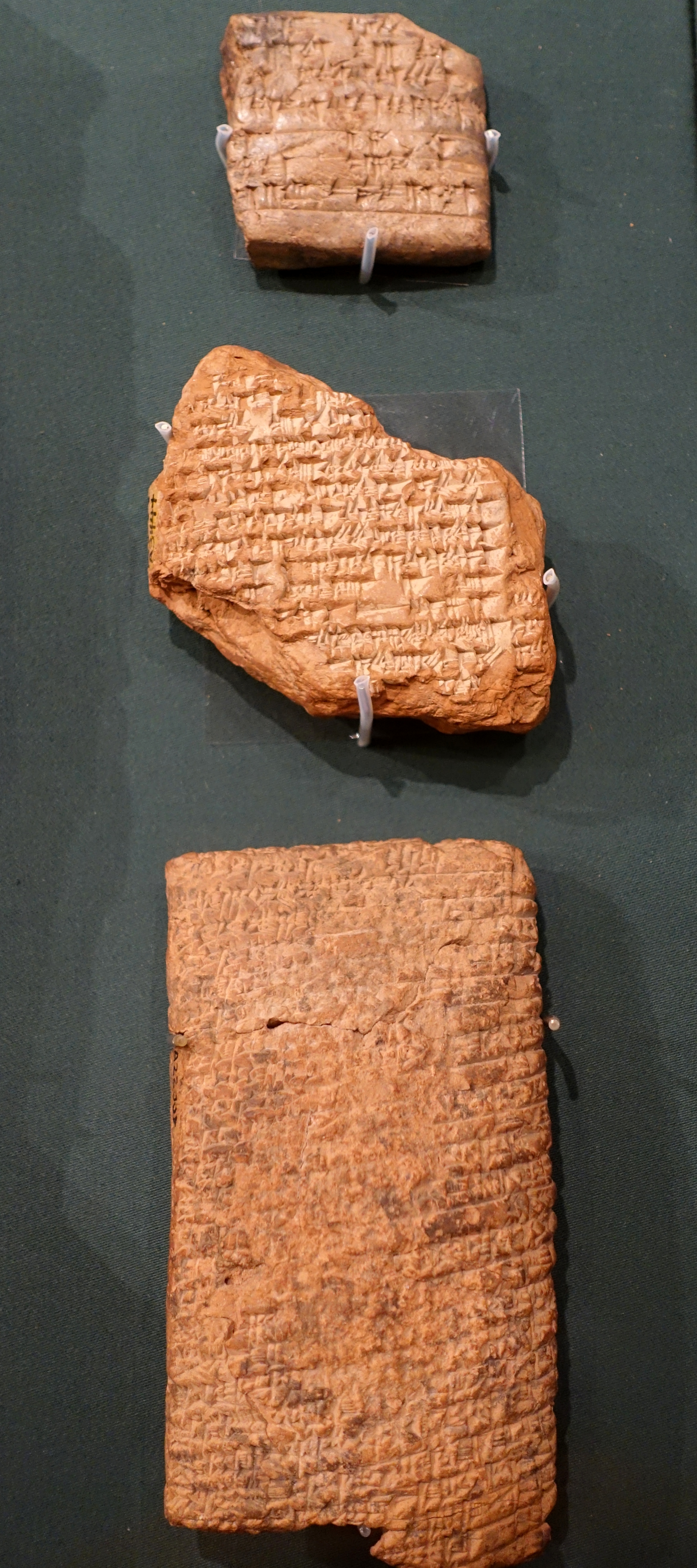 3 Tablets from the Epic of Gilgamesh
