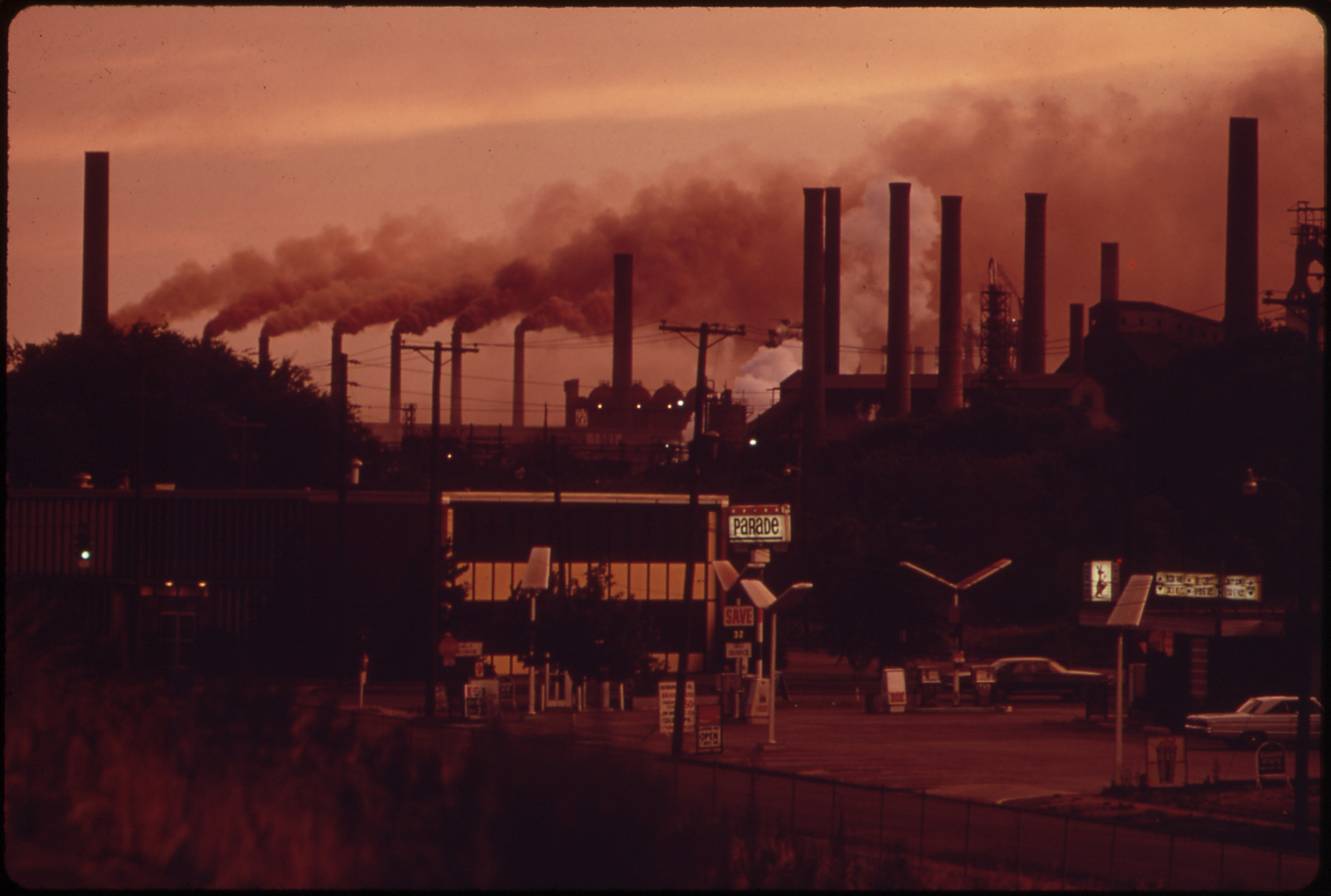 File:FAIRFIELD PLANT OF U S  STEEL OPERATES 24 HOURS A DAY