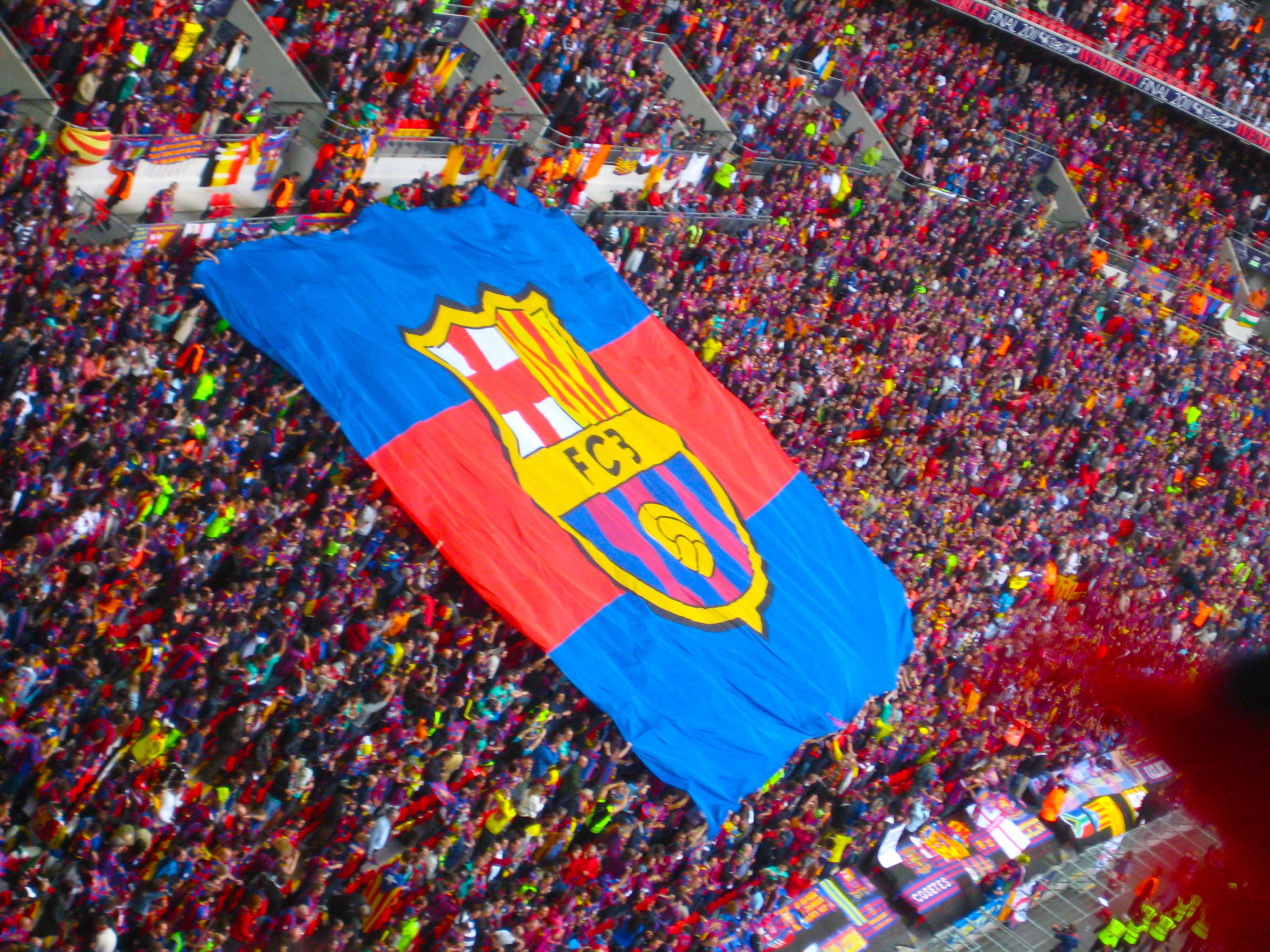 The Best Logo Fc Barcelona Flag