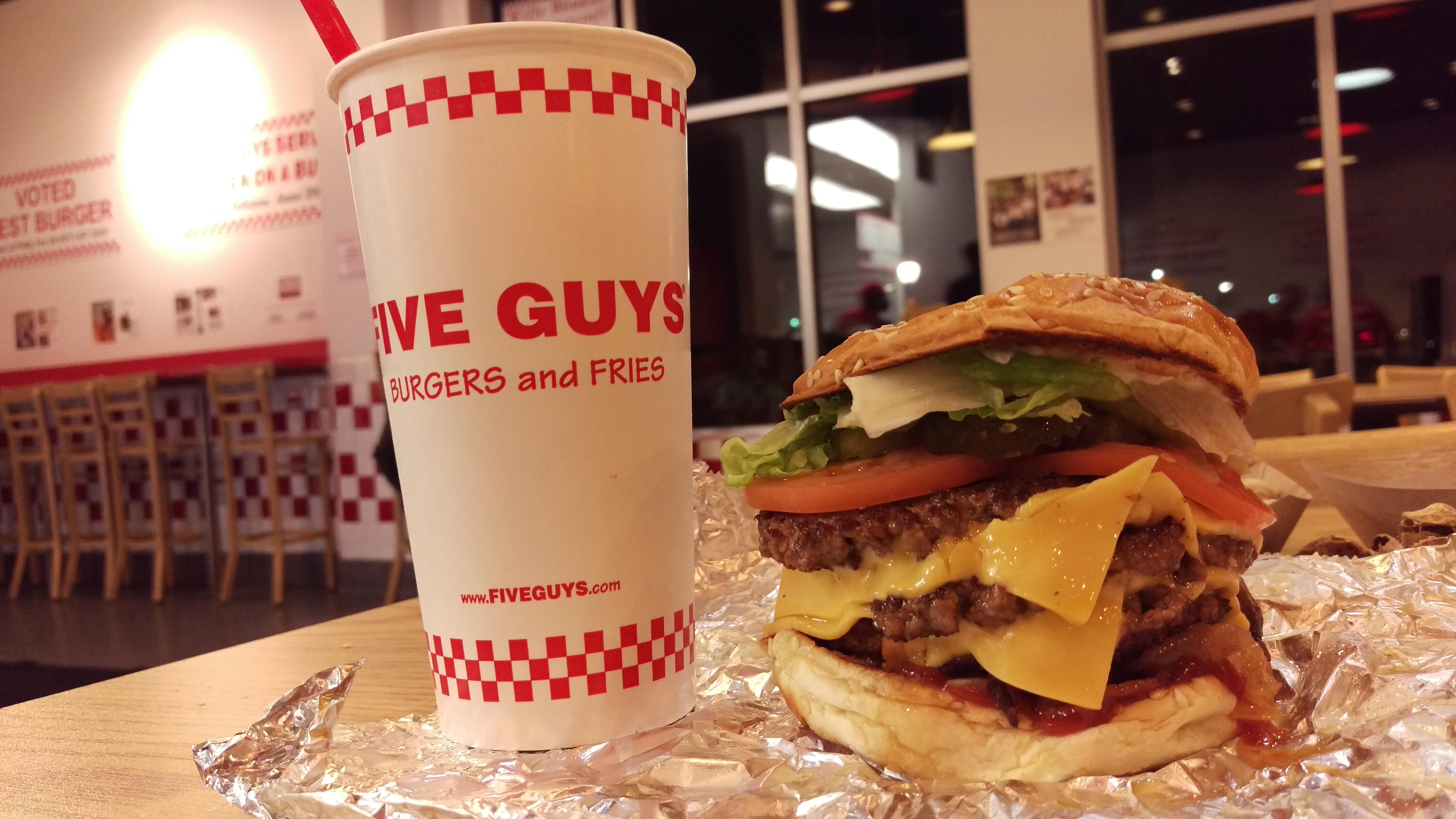 Bacon Cheeseburger Fast Food