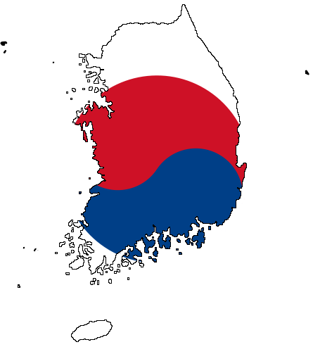 south and north korean flags. South Korea#39;s flag was adopted