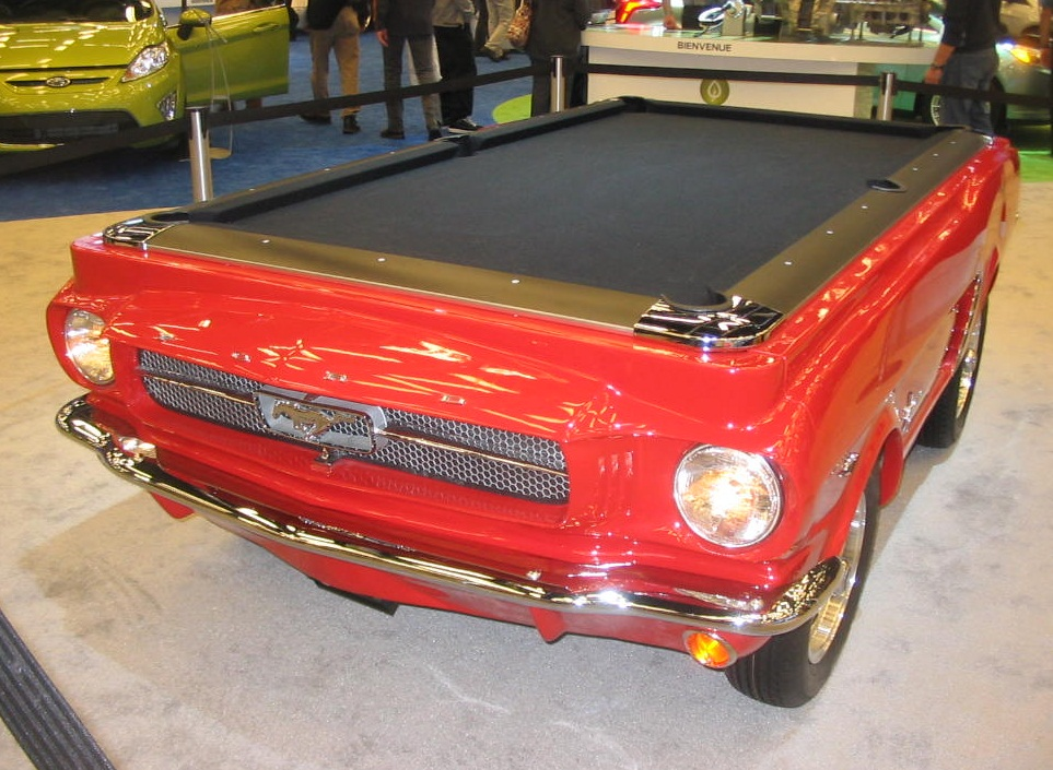 FileFord Mustang As Pool Table MIAS JPG Wikimedia Commons - Mustang pool table