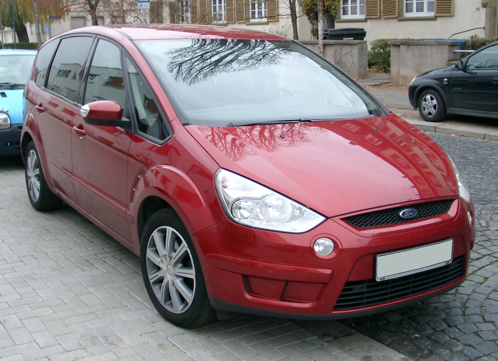 file ford s max front wikimedia commons. Black Bedroom Furniture Sets. Home Design Ideas