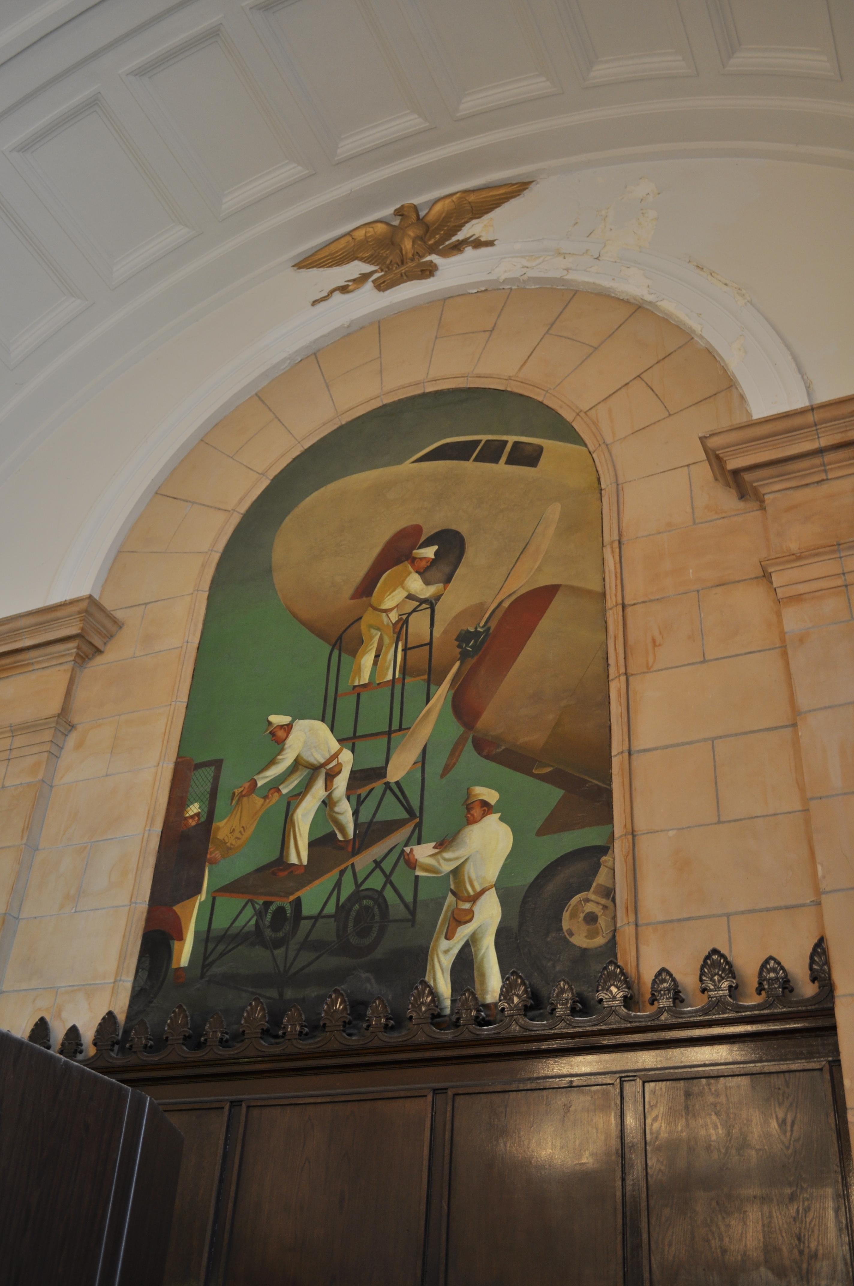 File:Freeport, NY post office interior 04.jpg - Wikimedia ...