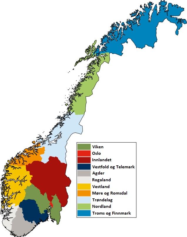 Norges Fylker Wikipedia Den Frie Encyklopaedi