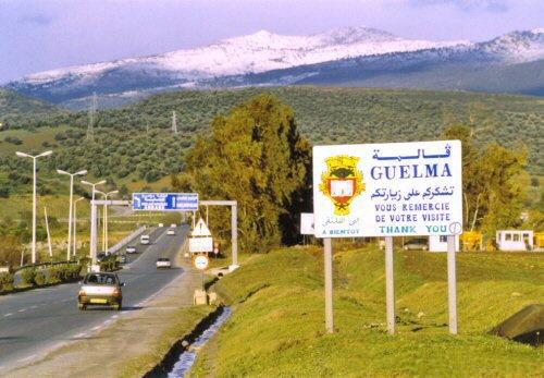 صور من الغالية الجزائر GM_Guelma_Road01