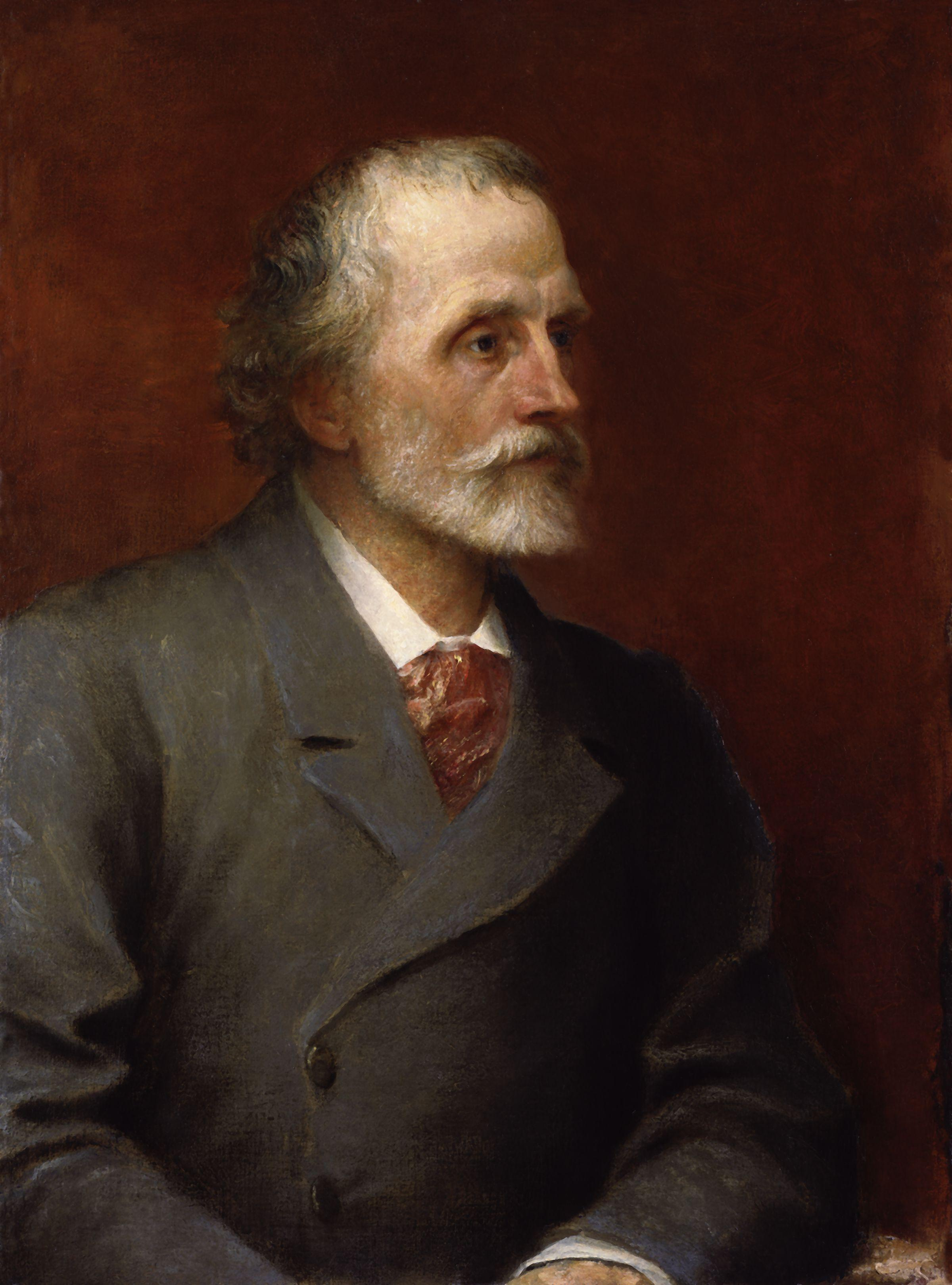 george meredith  george meredith by george frederic watts jpg