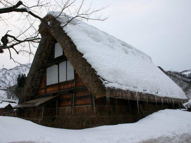 Tradicionalne kuće , jedinstvena gradnja  Gokayama_Japanese_Old_Village_001