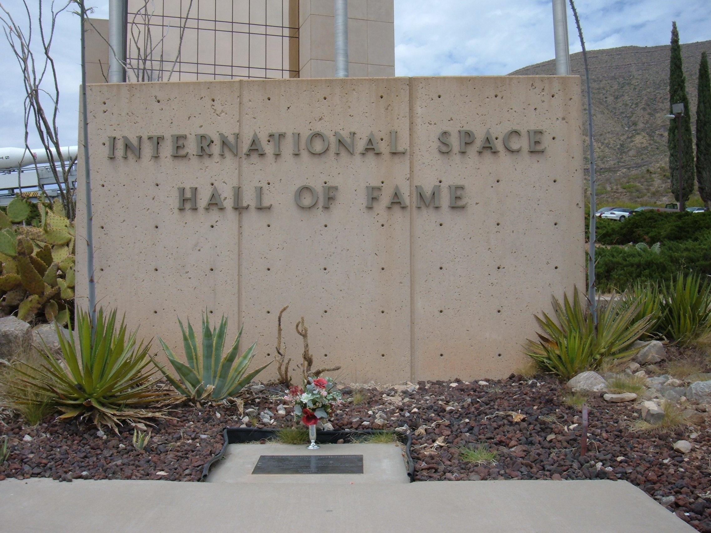 Tumba de Ham, en el Salón de la Fama del Espacio en Alamogordo, Nuevo México (Estados Unidos).