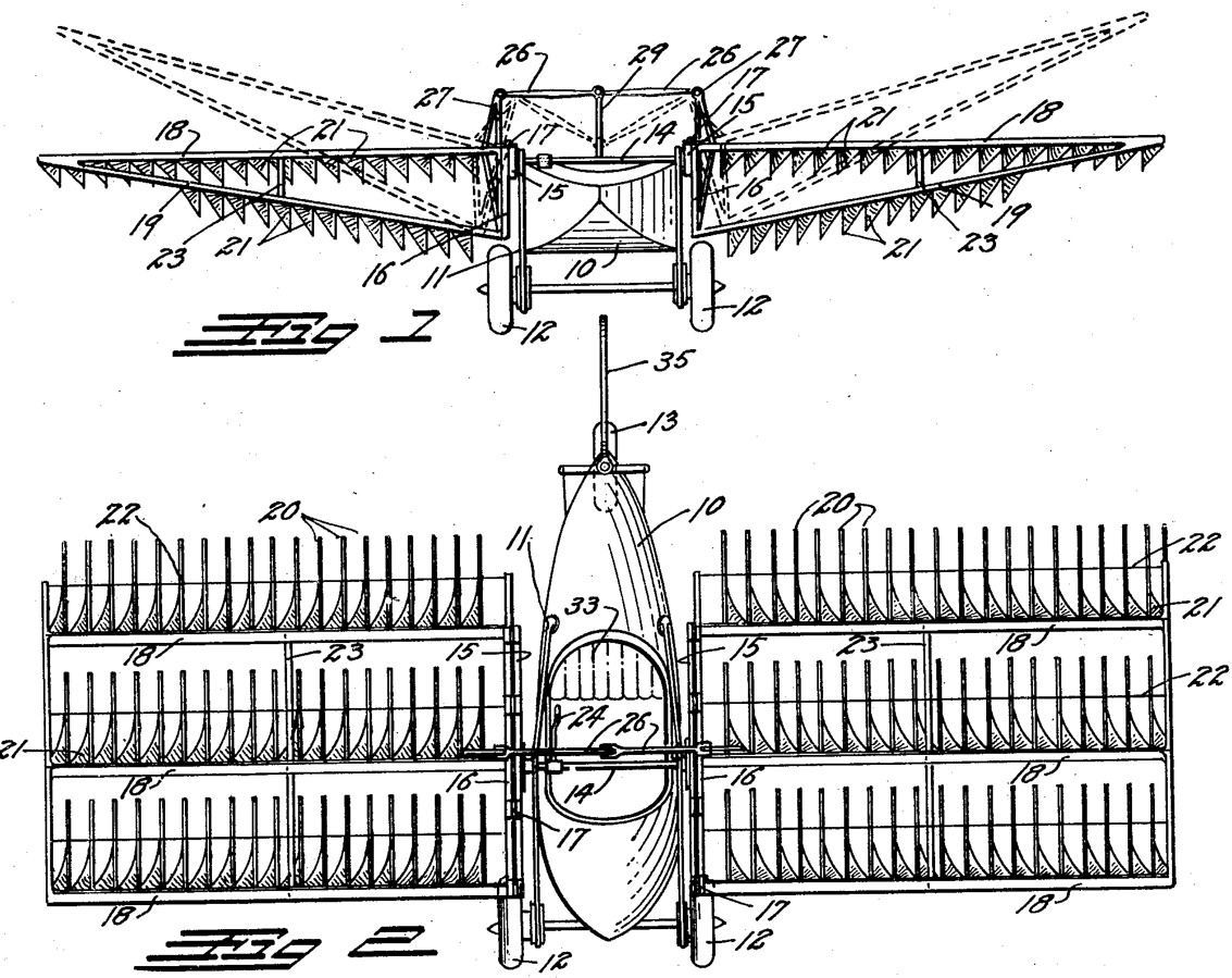 File:Grey Goose ornithopter patent.png - Wikimedia Commons