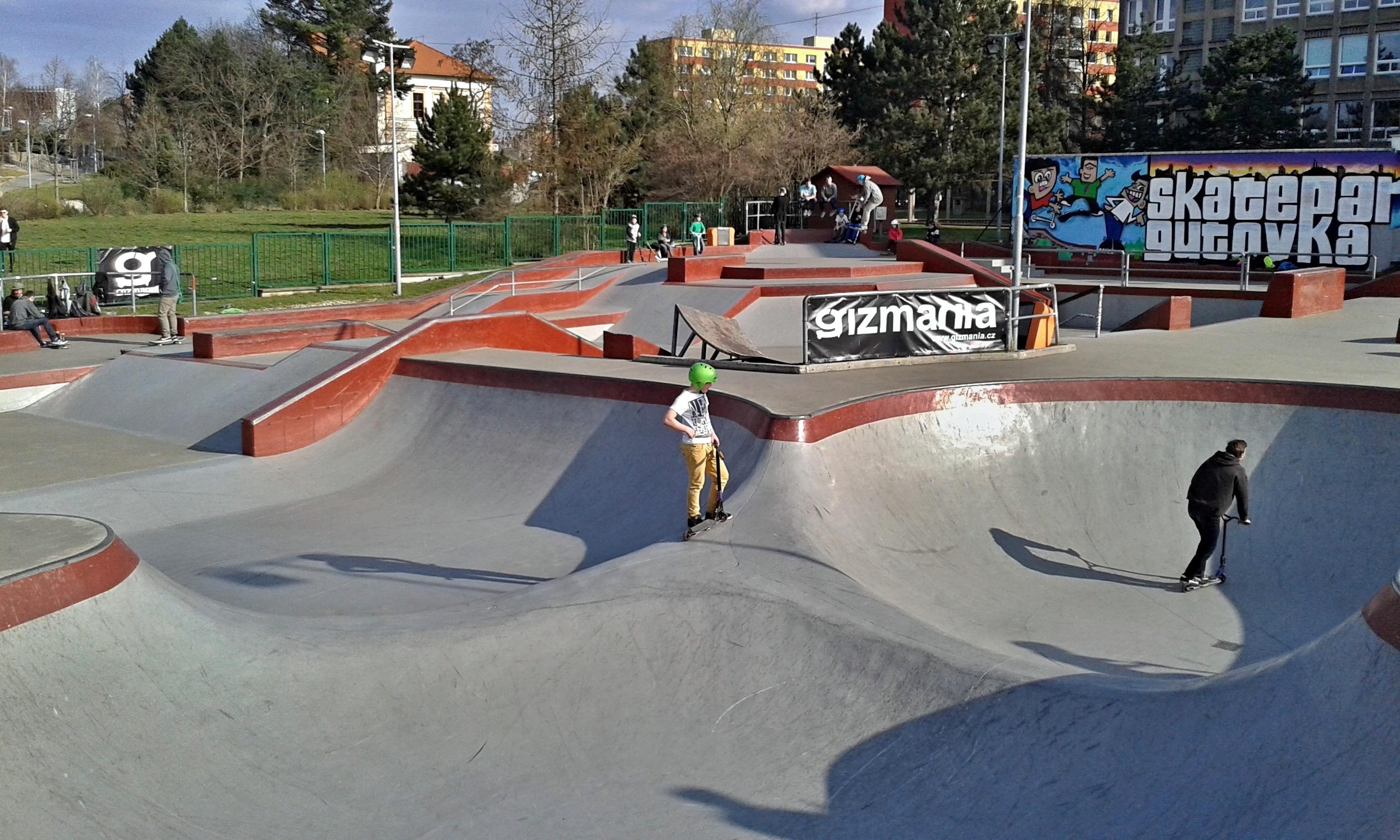 Crawfordsville In Skatepark On It's Way