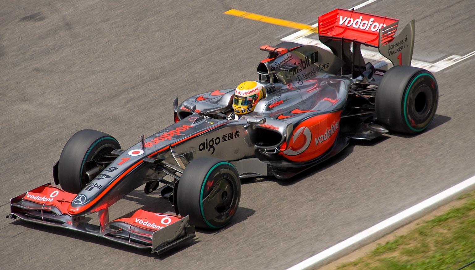 Mercedes Race Car Vent On Top