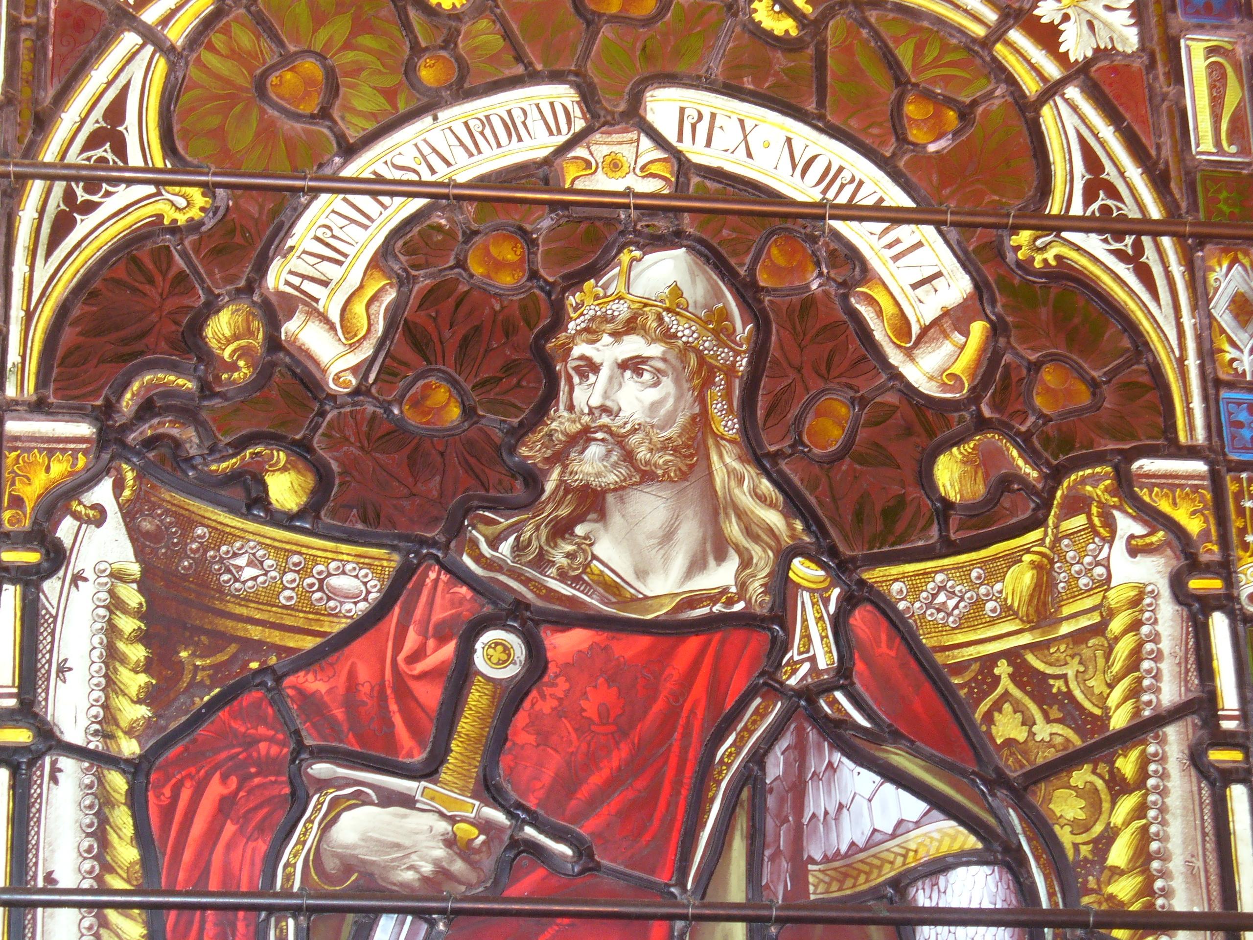 Harald Hardrada window in Kirkwall Cathedral geograph 2068881
