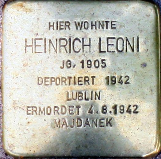 Heinrich Leoni-Stolperstein.jpg