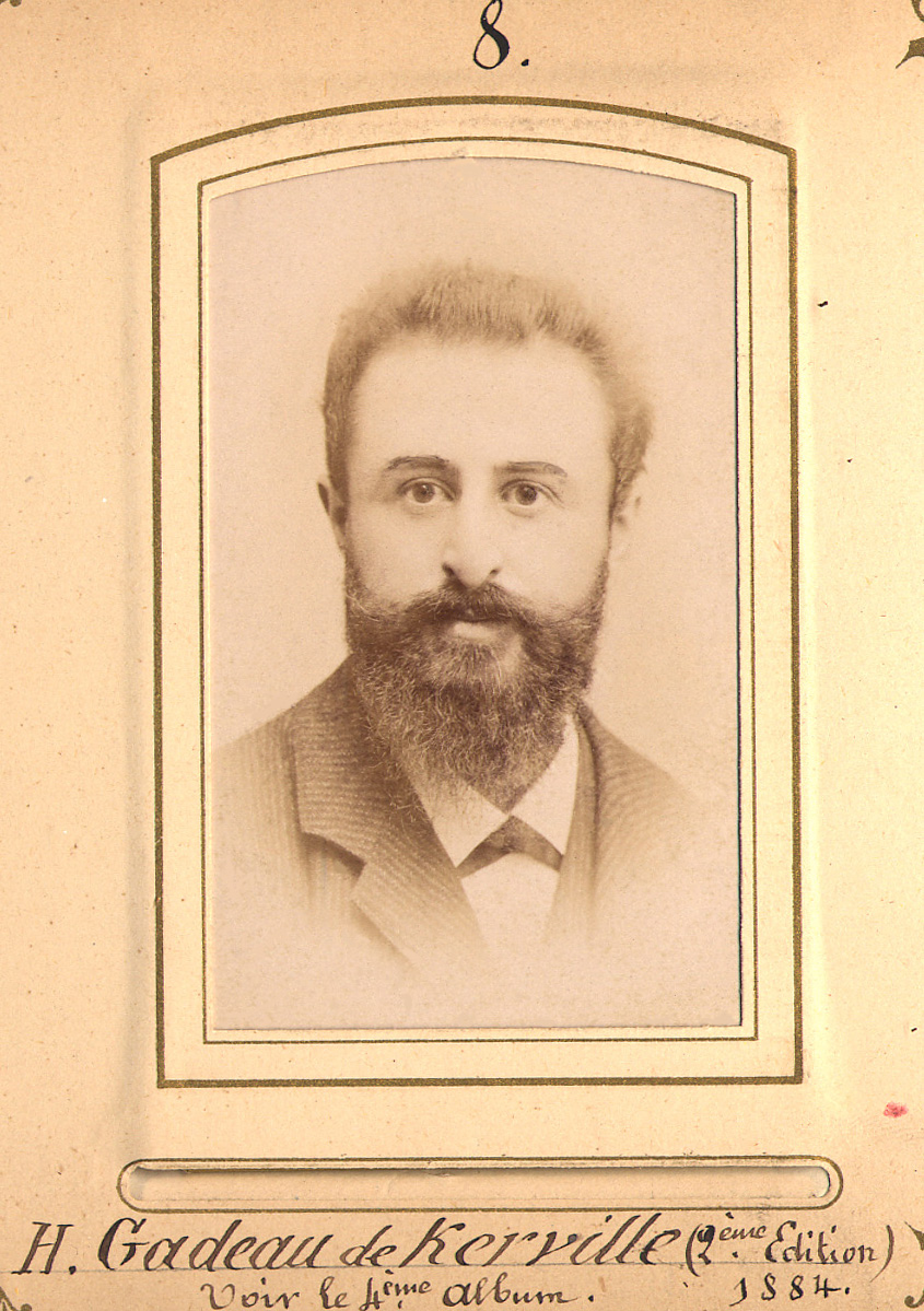 Image of Henri Gadeau de Kerville from Wikidata