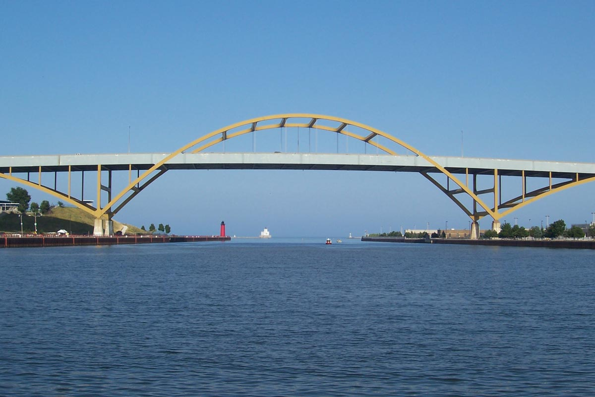 Hoan Bridge jpg Bridge