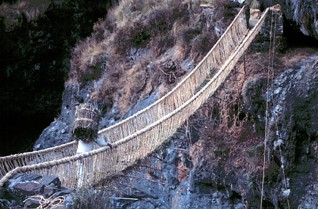 puente q'eswachaka queshuachaca bridge