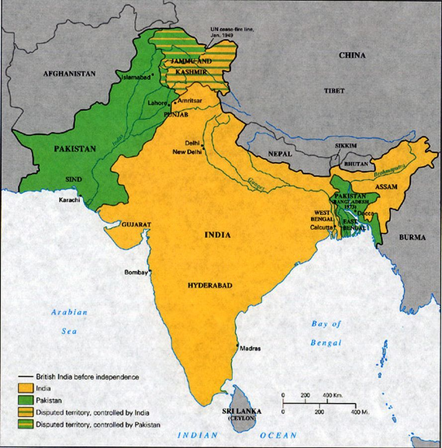 Razdel Britanskoj Indii Vikipediya