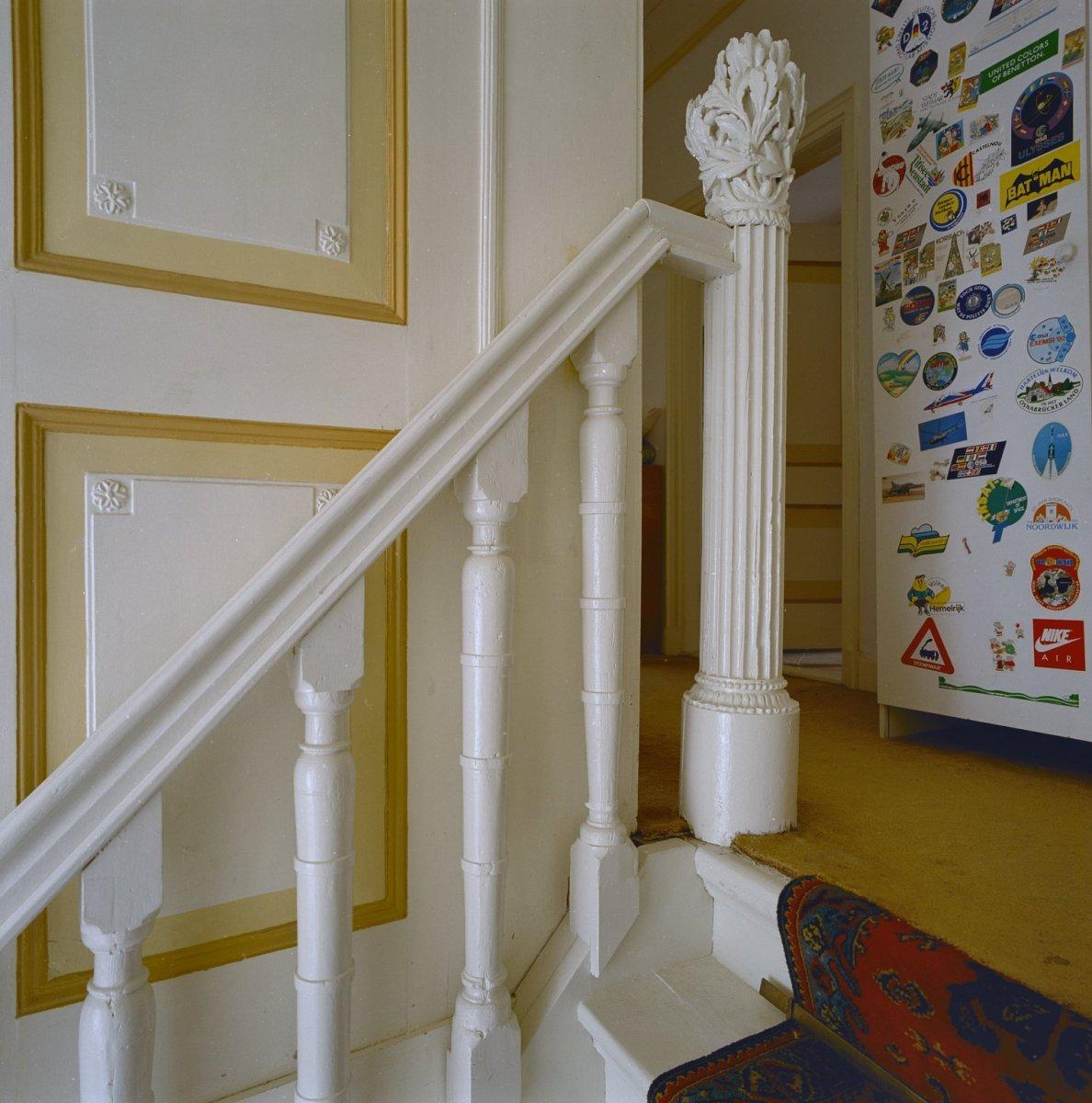 File interieur eerste verdieping detail trap trappaal for Binnen interieur