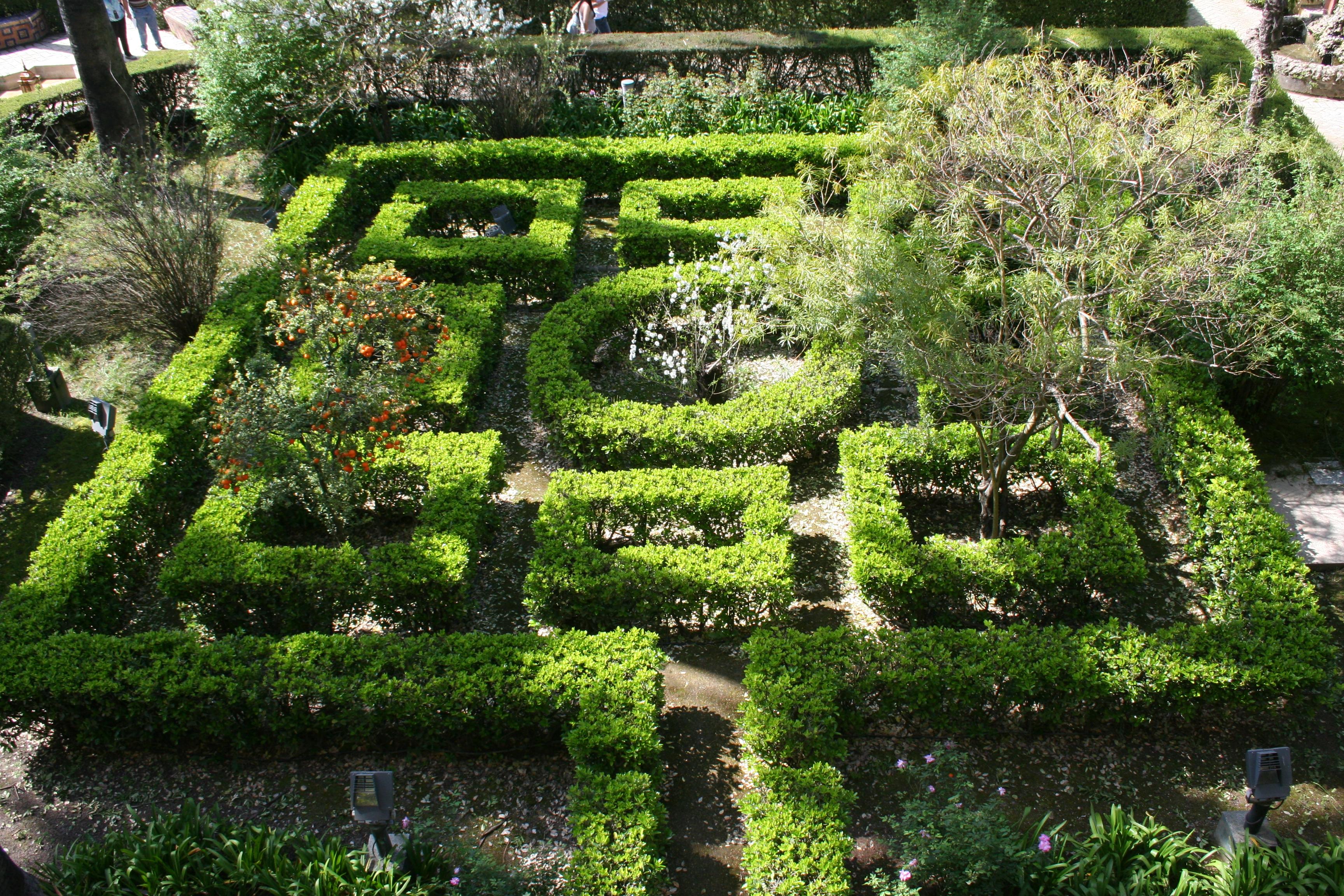 File jardines alc zar sevilla wikimedia commons for Jardines barrocos