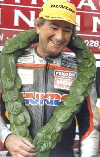 Joey Dunlop Northern Irish motorcycle racer