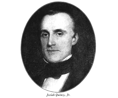 photo of Josiah Quincy Jr.