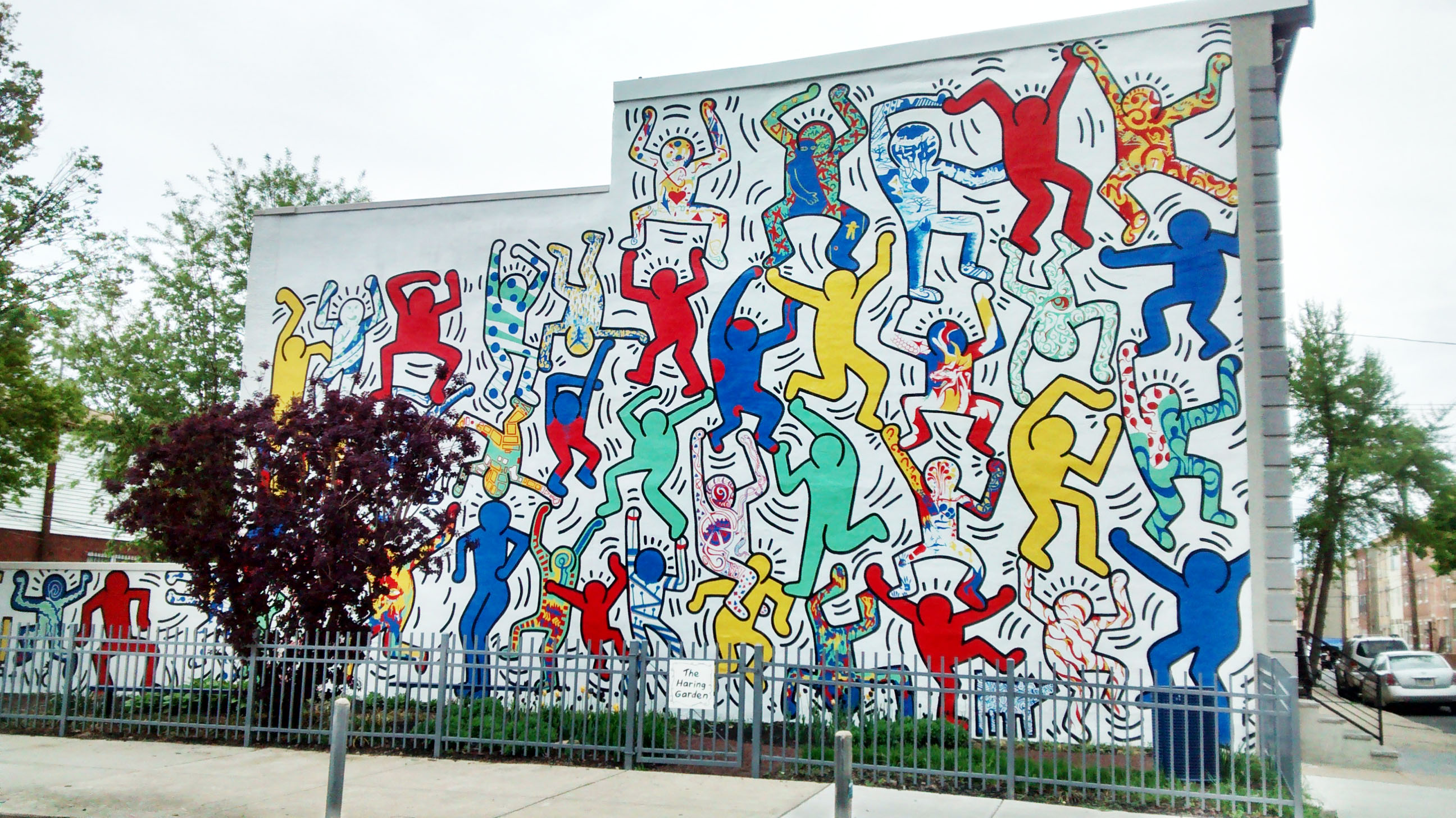 FichierKeith Haring We Are The Youthjpg — Wikip&233dia