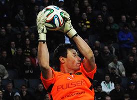 Kevin Stuhr Ellegaard professional football goalkeeper