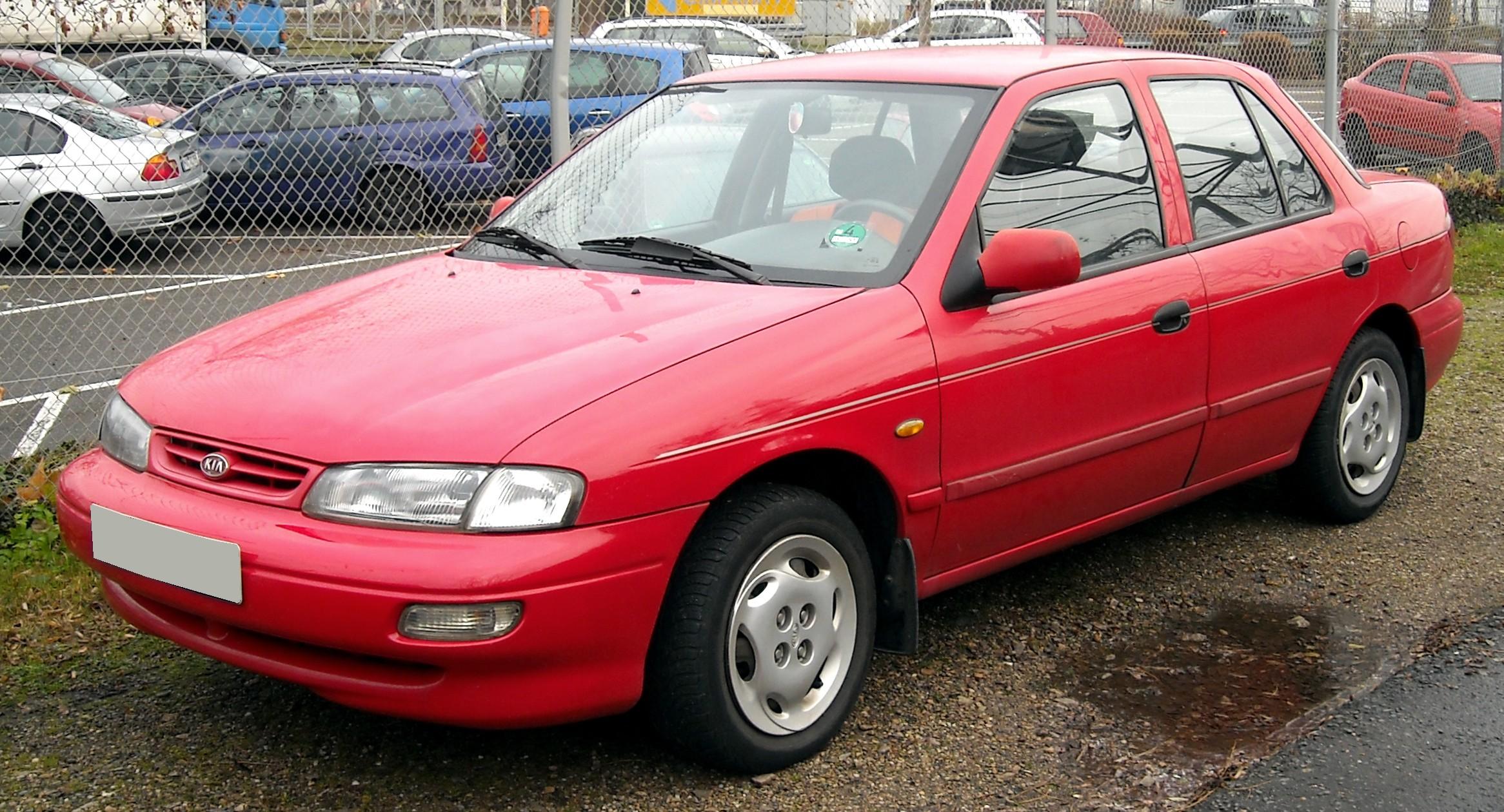 1994 kia sephia engine