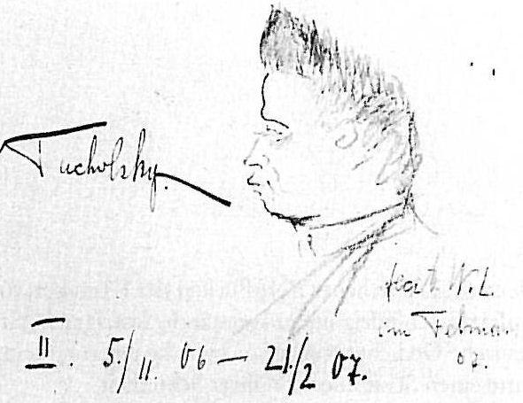 Kurt Tucholsky 1907 (vn W L)
