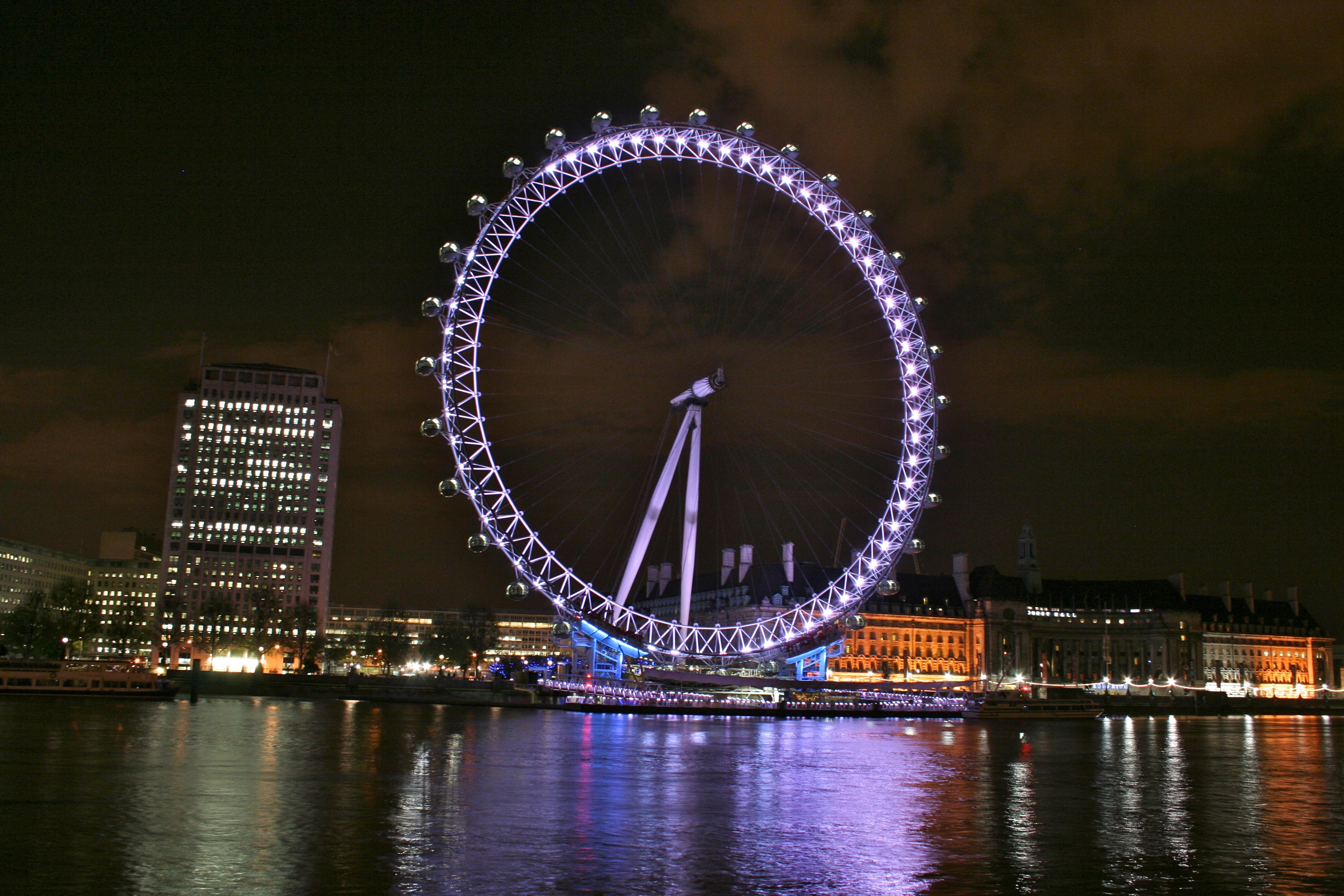 Tits on london eye