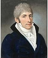 Christian August Joachim Leißring, Porträt von Johann Jacob de Lose (Quelle: Wikimedia)