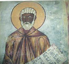 Moses the Black Monk, priest and martyr in Egypt
