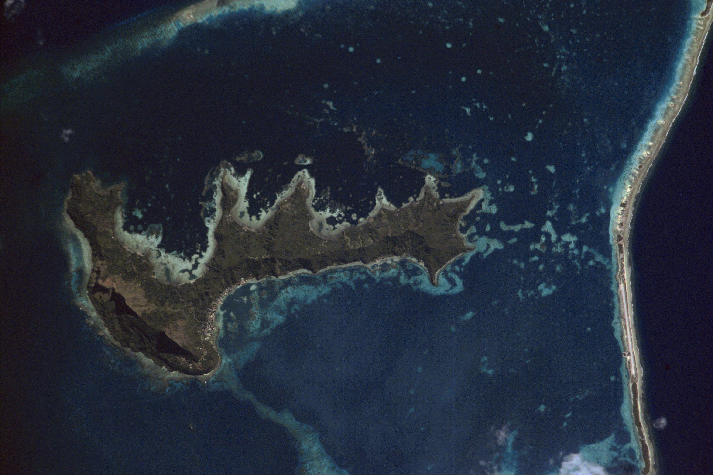Mangareva carte de Polynésie