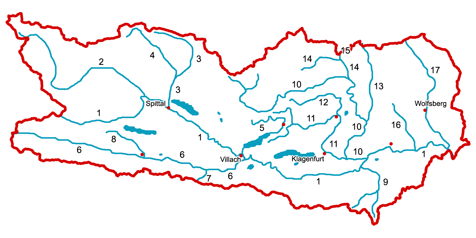 Steiermark Karte Flüsse.23 Bilder Flusskarte Steiermark