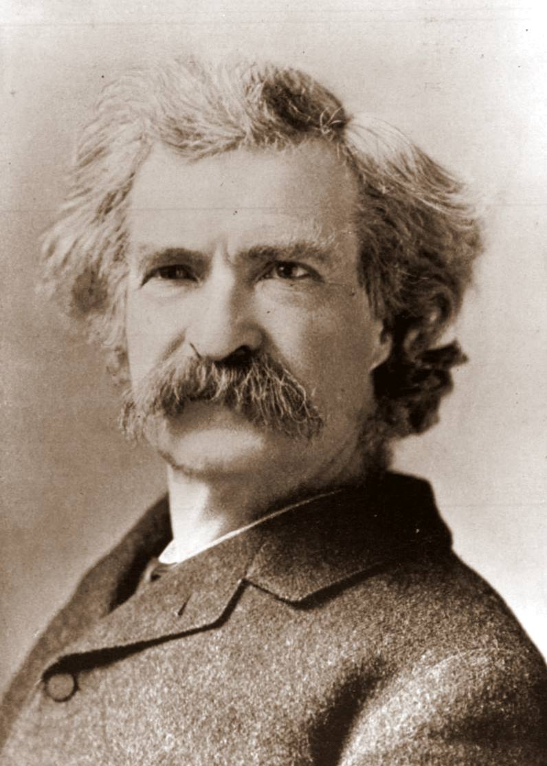 Image result for mark twain picture