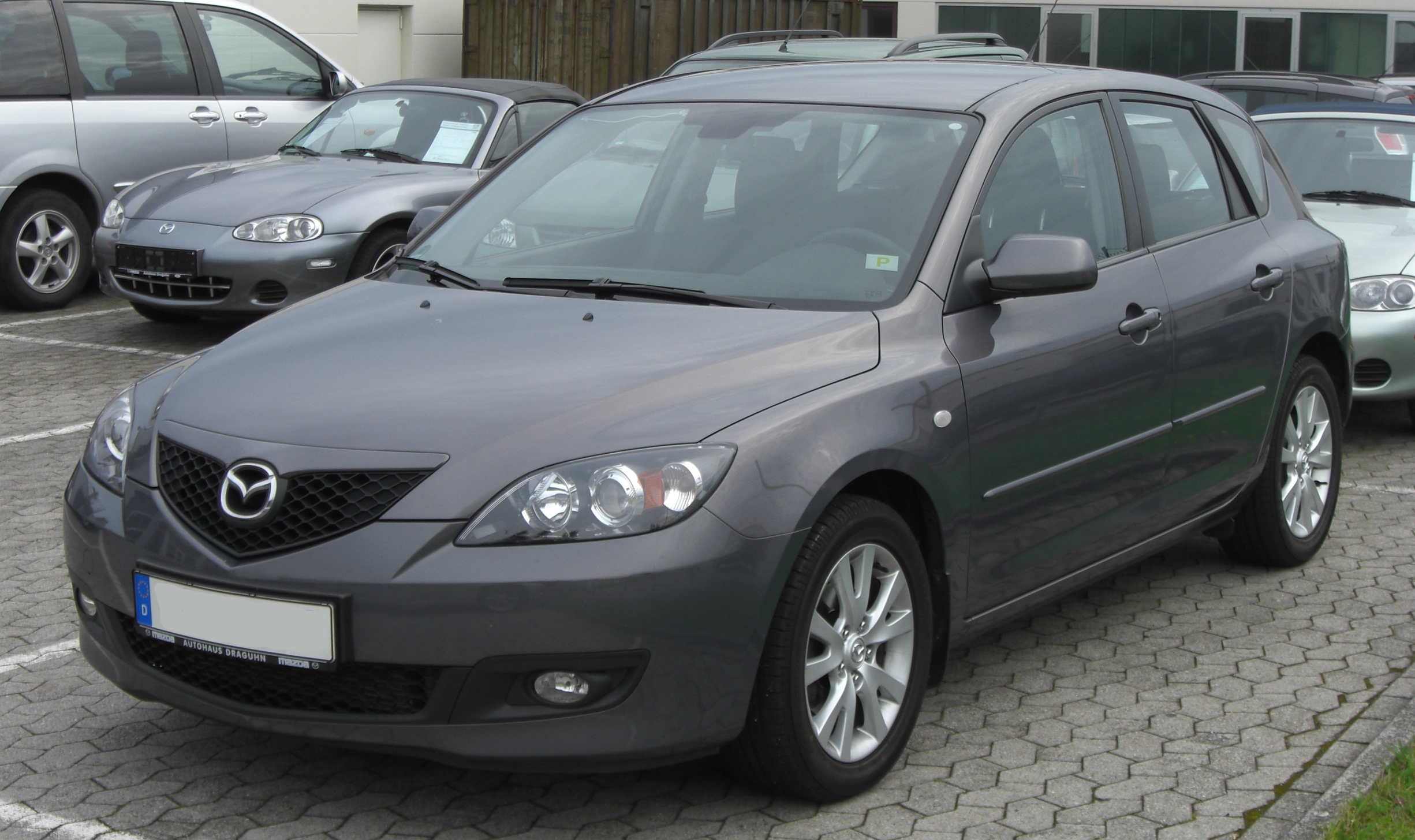 File Mazda 3 Facelift Front Jpg Wikimedia Commons