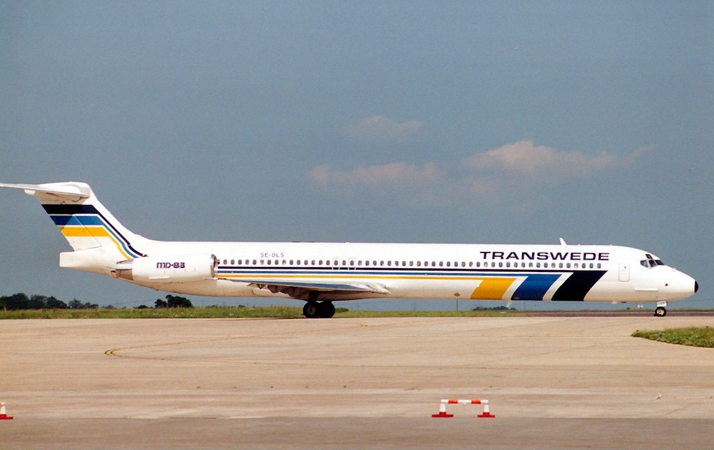 Airline Transvid Airways (Transwede Airways). Official sayt.3